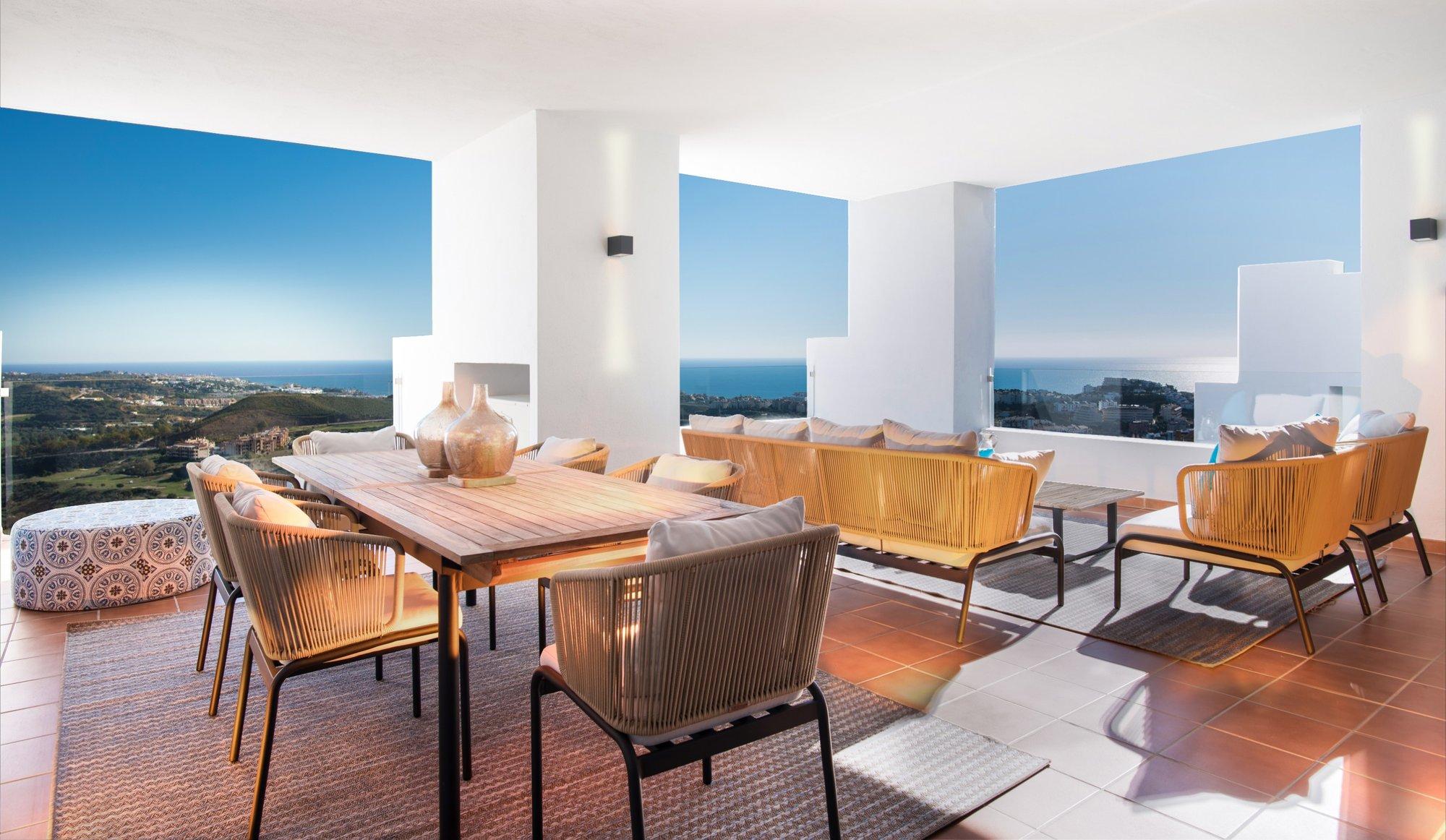 Penthouse te koop in Mijas