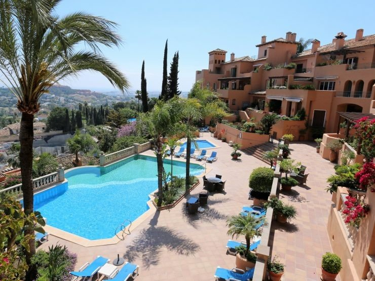 Penthouse for sale in Marbella, Les Belvederes