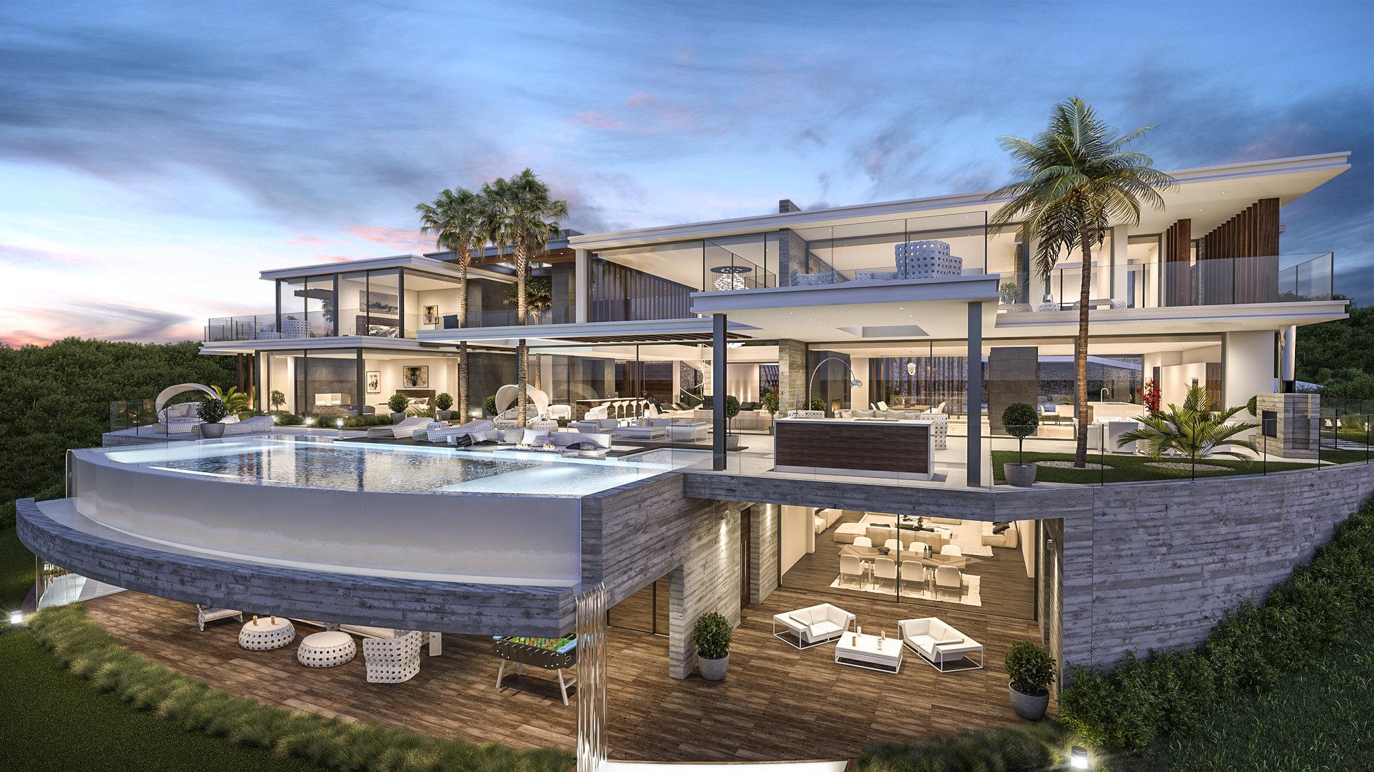 7 bedroom 9 bathroom villa for sale in la zagaleta for Villa de luxe moderne