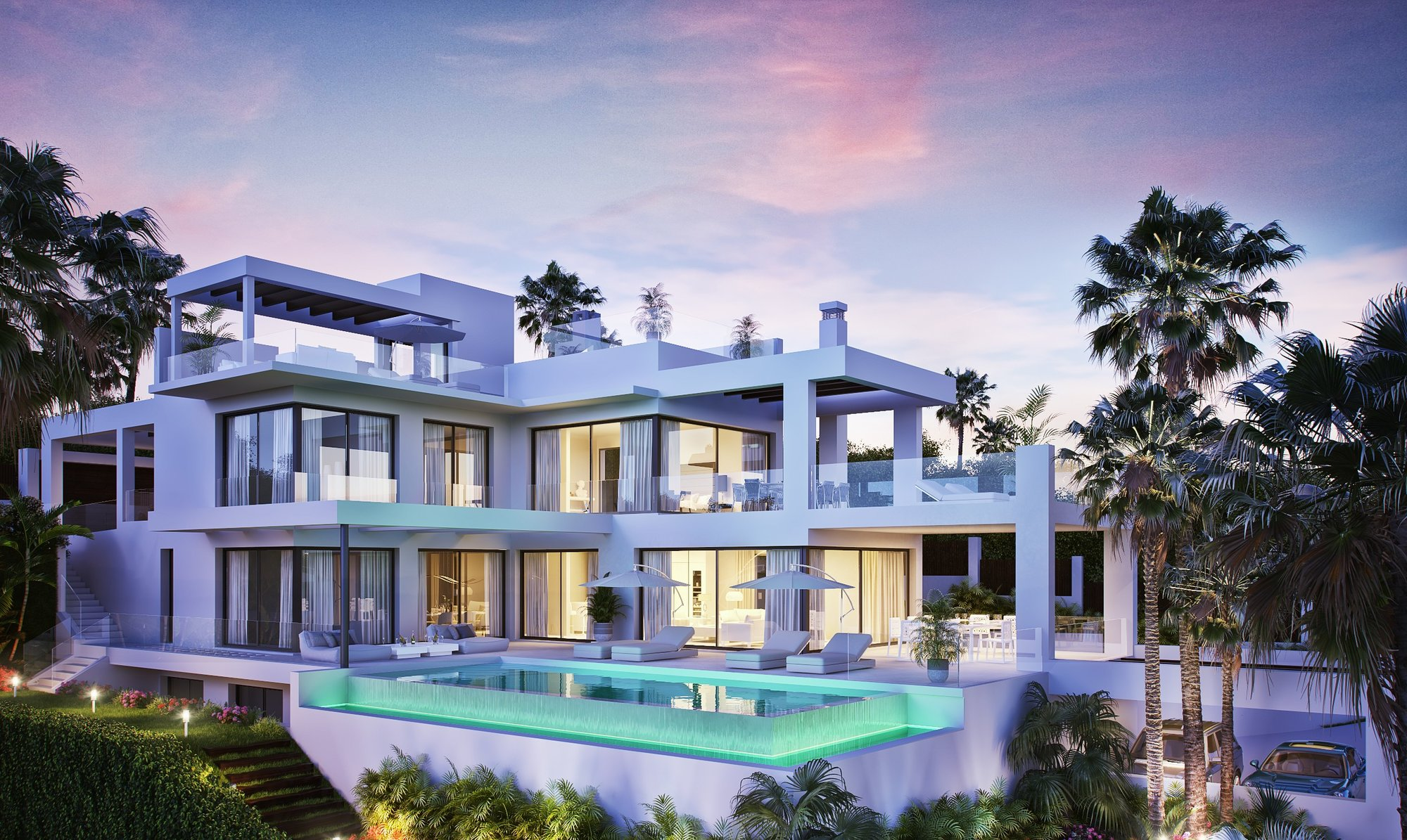 Villa till salu i Estepona, New Golden Mile