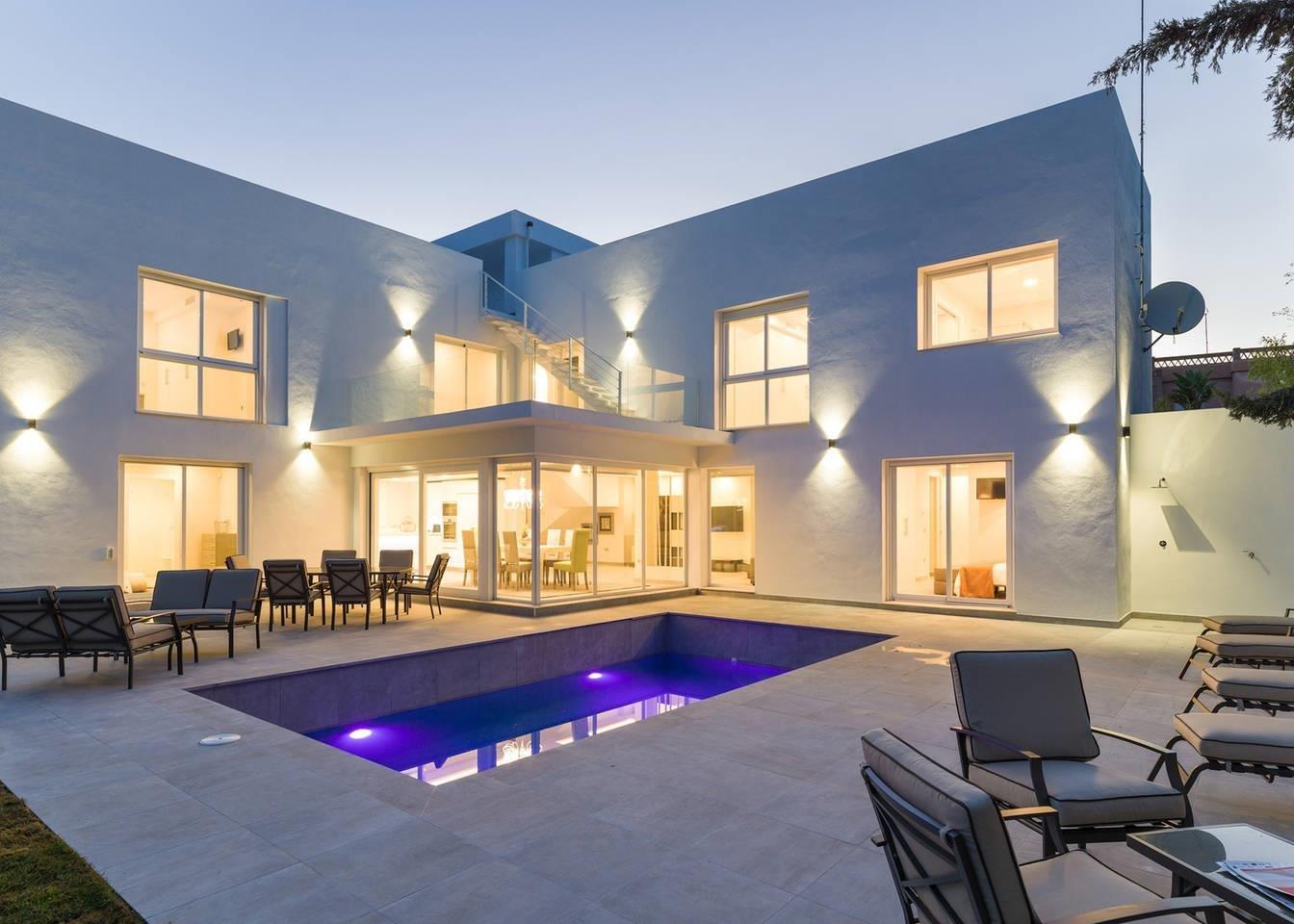 Villa att hyra i Marbella, Nueva Andalucia