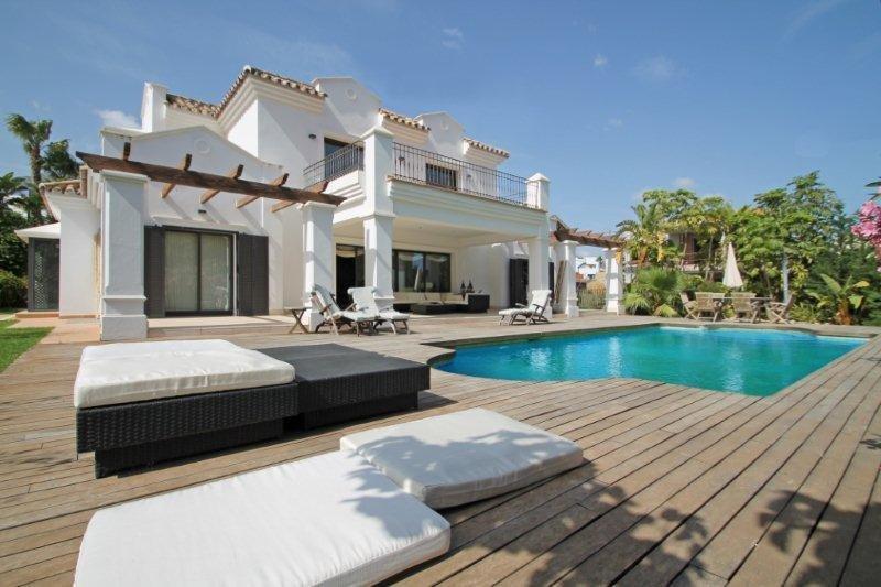 Villa att hyra i Marbella, Nagueles