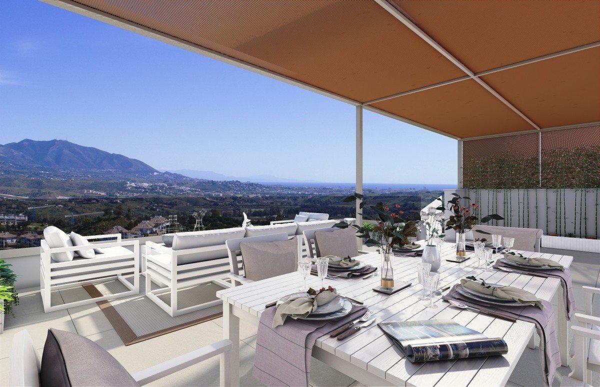 Penthouse til salgs i Mijas