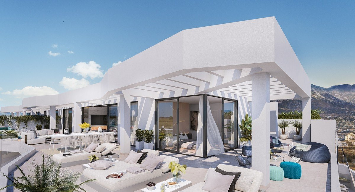 Penthouse till salu i Mijas