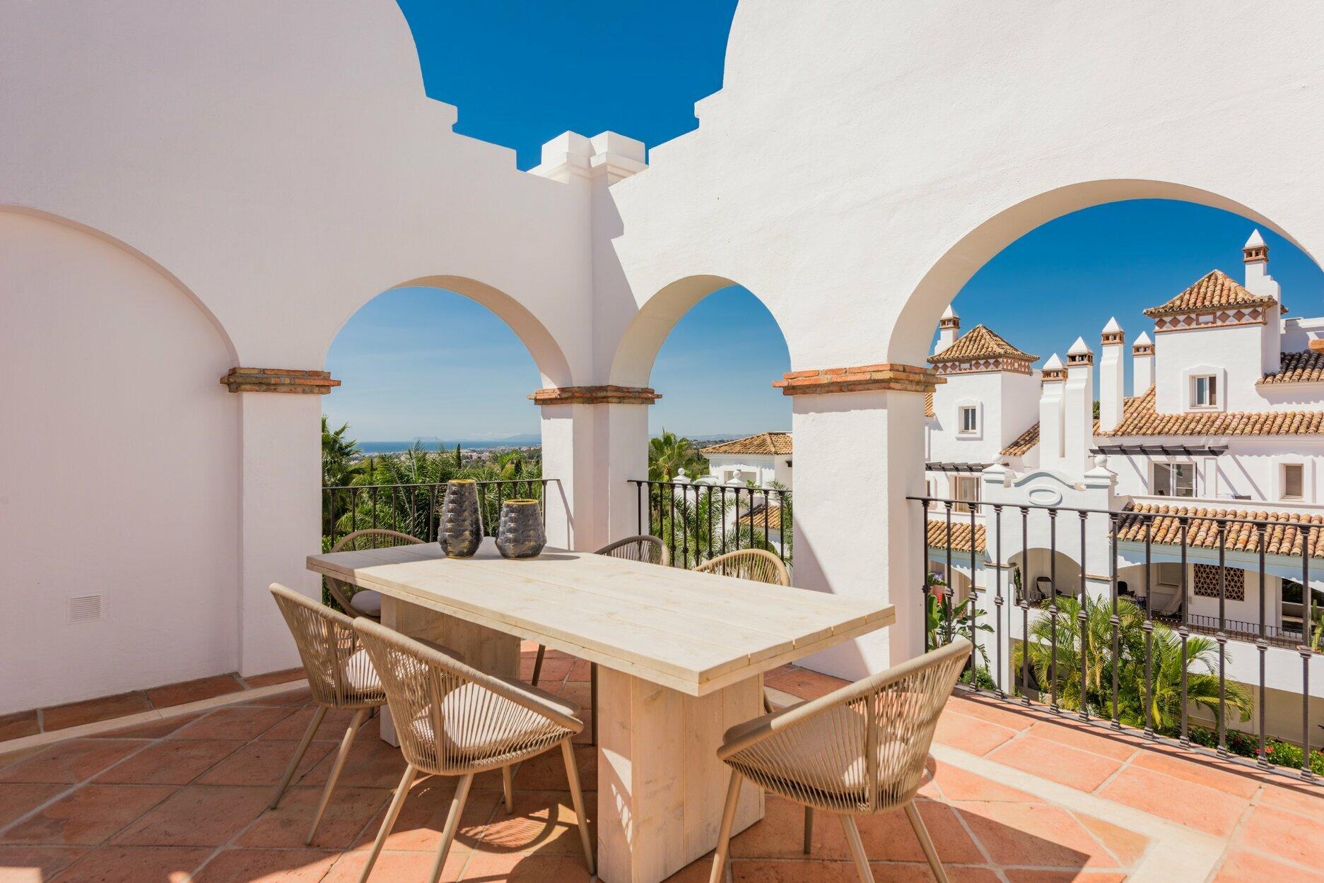 Penthouse att hyra i Marbella, Montebello Hills