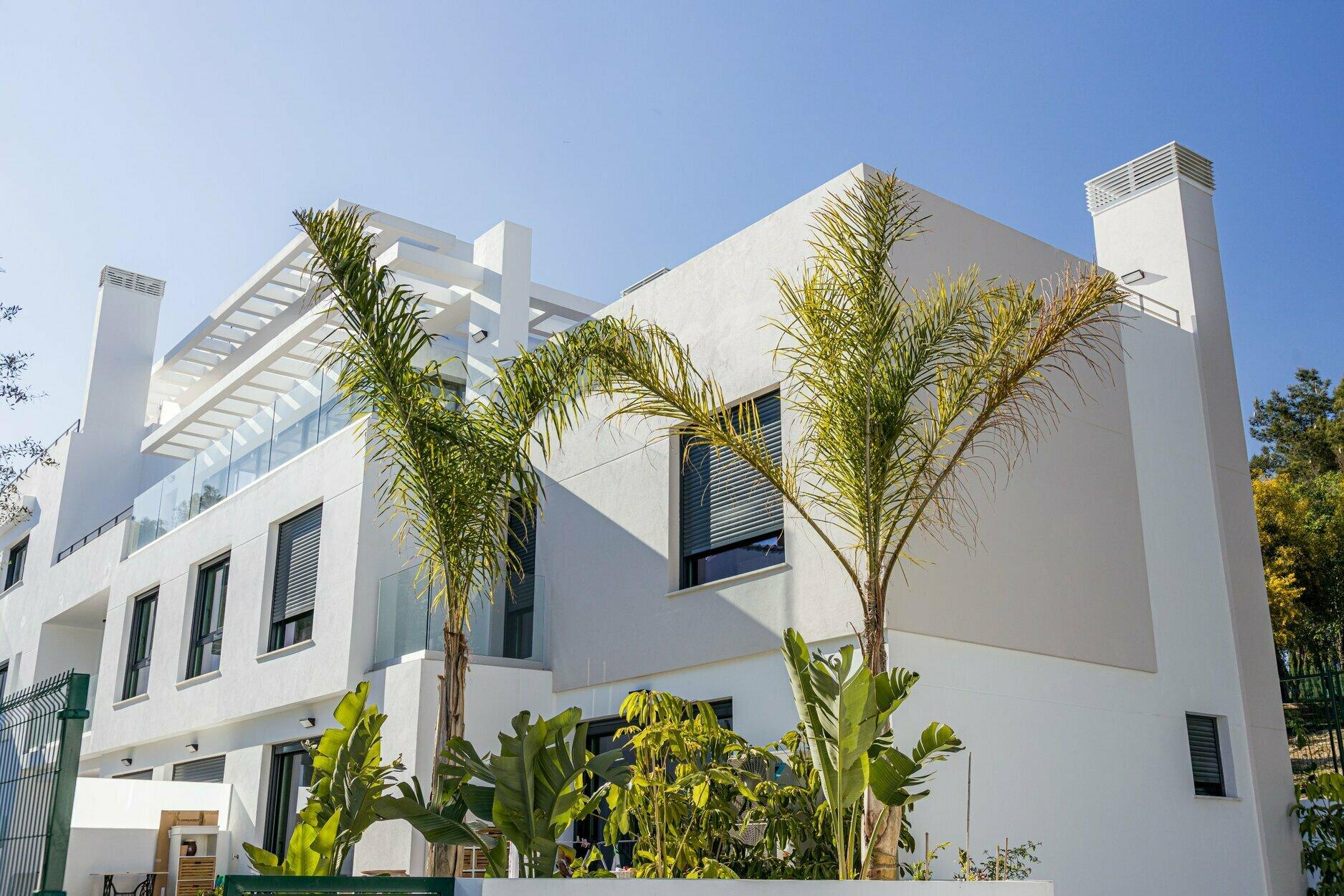 Penthouse att hyra i Marbella, Sitio de Nagüeles