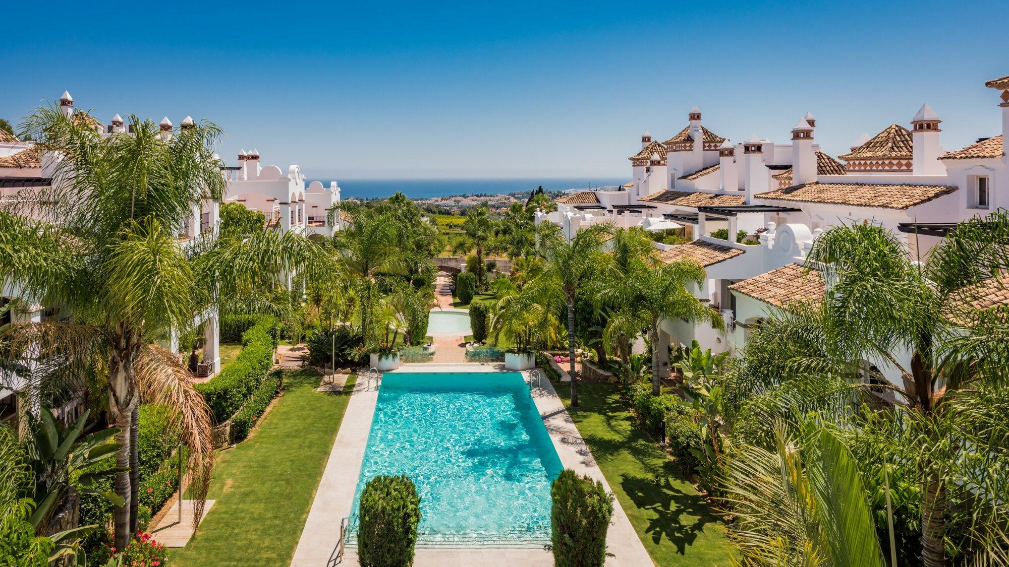 Apartment att hyra i Marbella, Montebello Hills