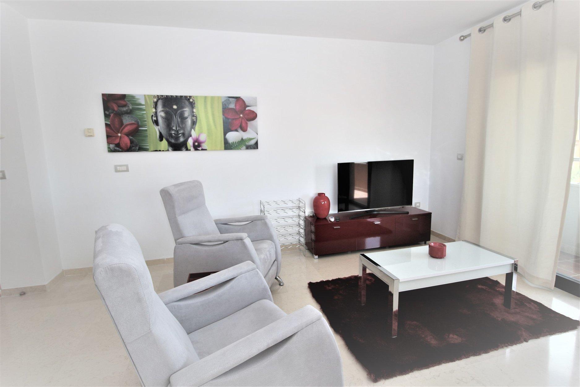 Apartment te huur in Marbella, Residencial Palacio de Congresos