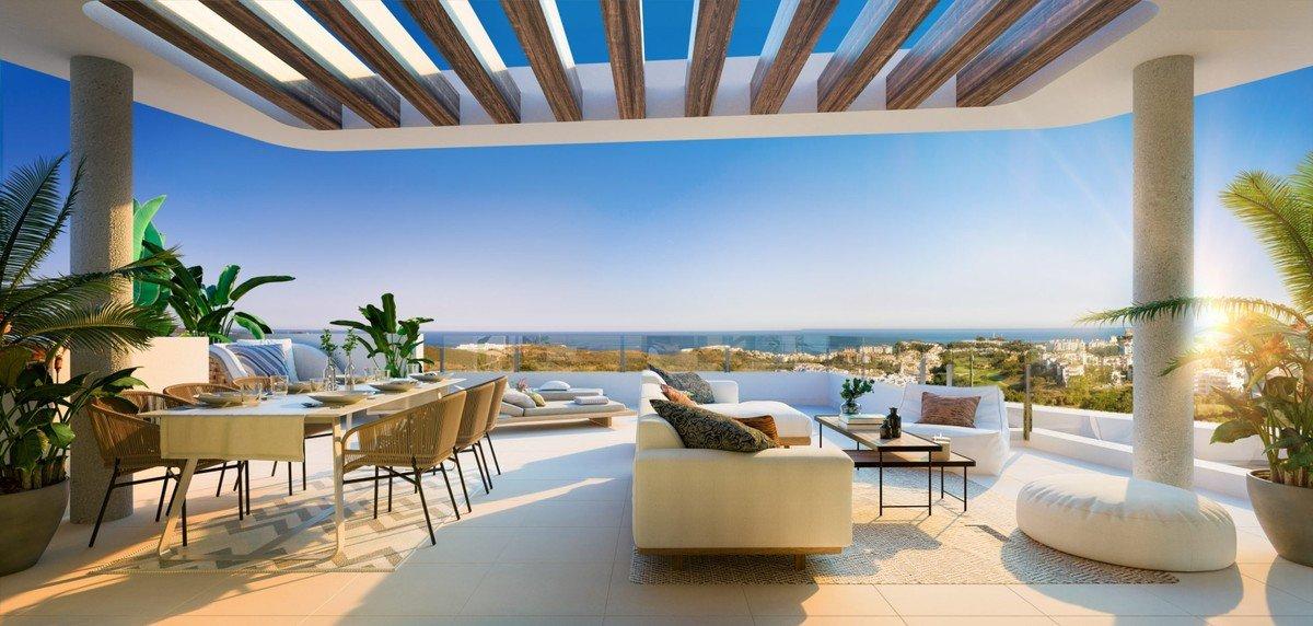 Penthouse for sale in Mijas, Calanova Golf