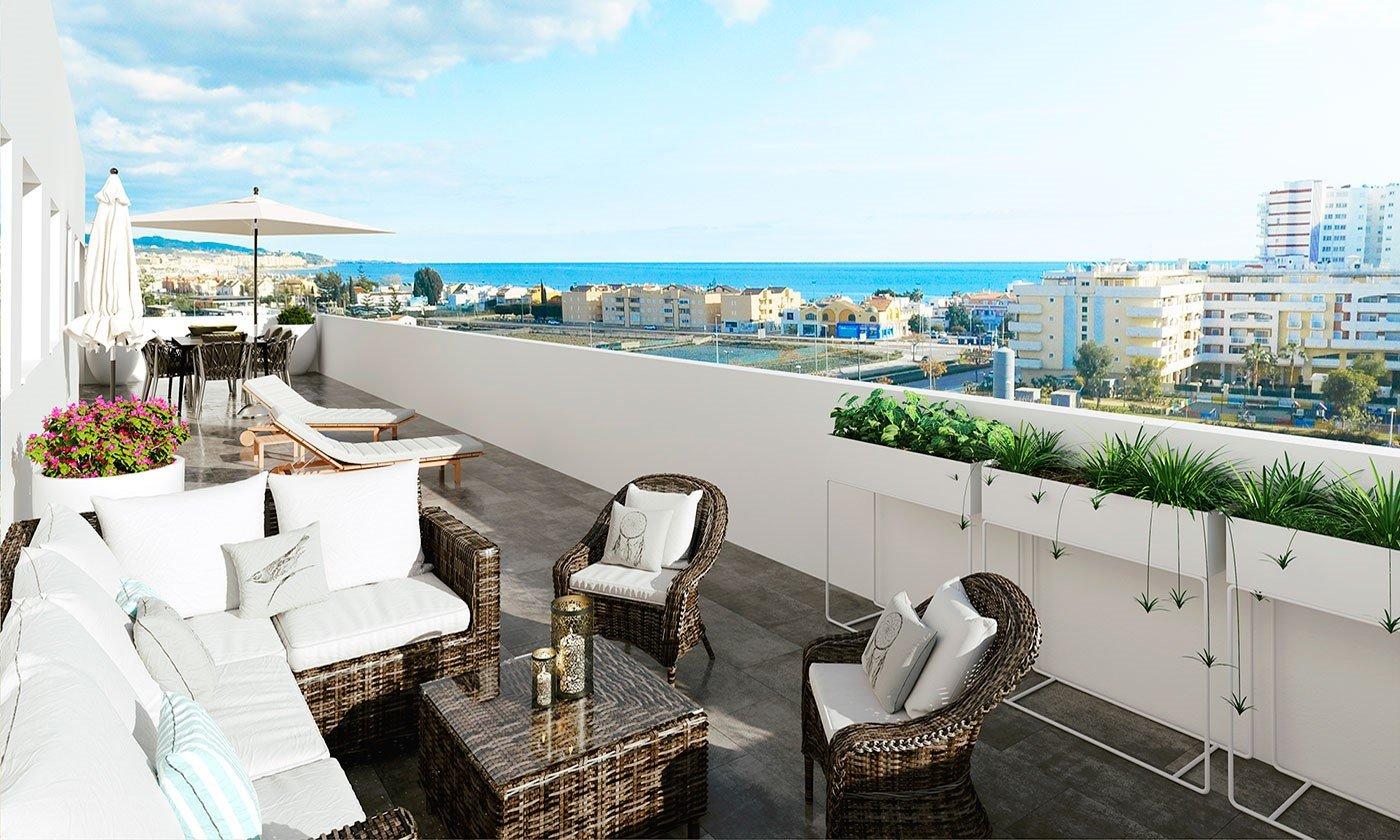 Penthouse te koop in Torre del Mar