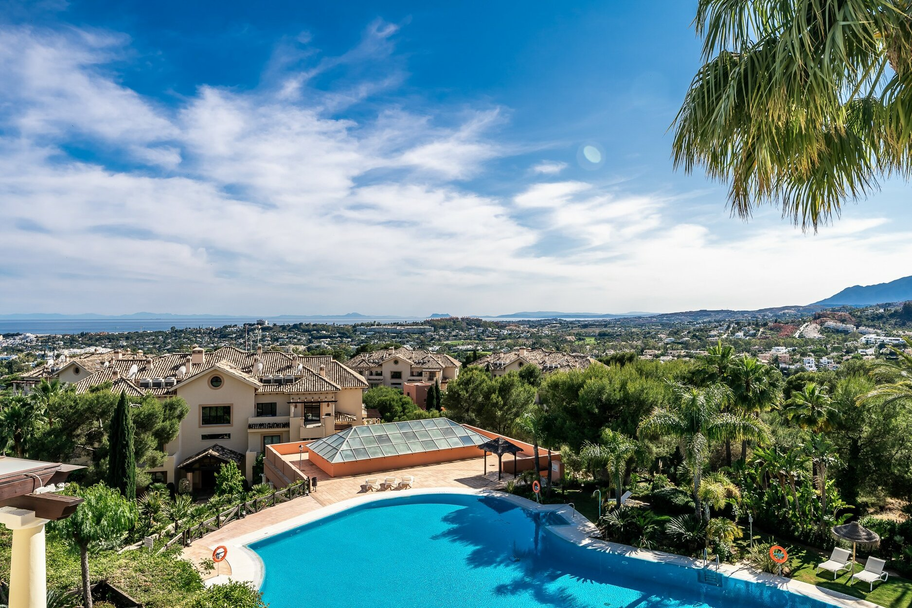 Penthouse for sale in Marbella, Aloha Park