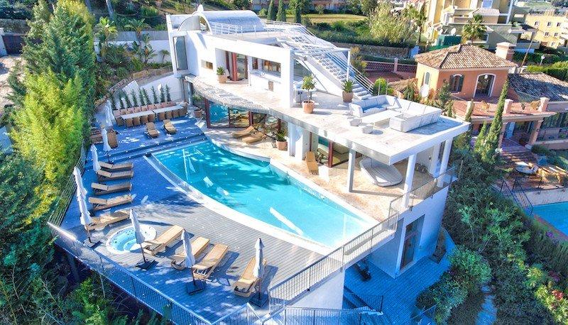 Villa for rent in Marbella, Los Naranjos de Marbella