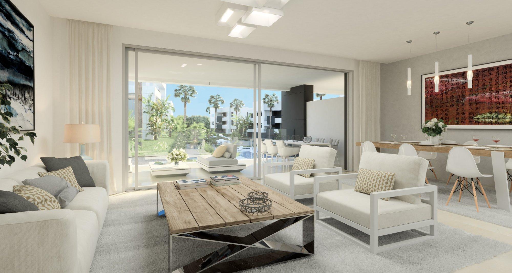 Apartment till salu i Estepona, New Golden Mile