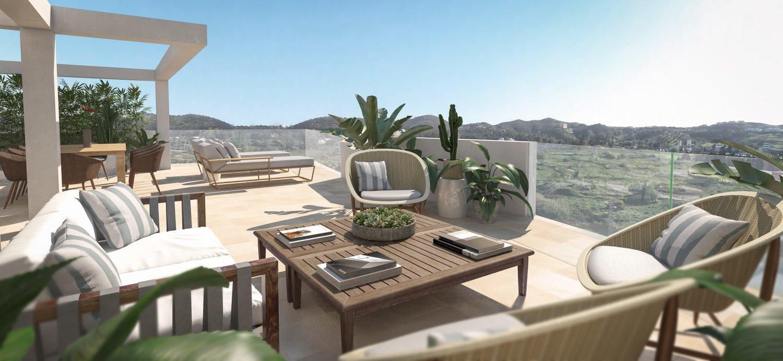 Penthouse en vente à Mijas