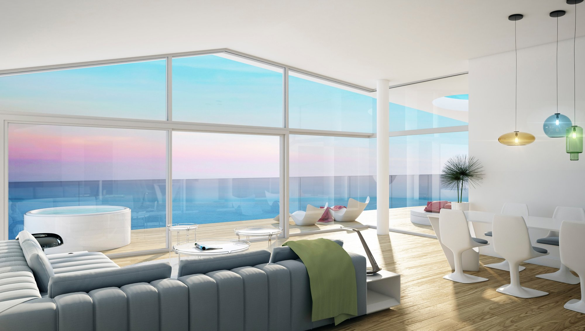 Penthouse till salu i Benalmadena, Med One Collection