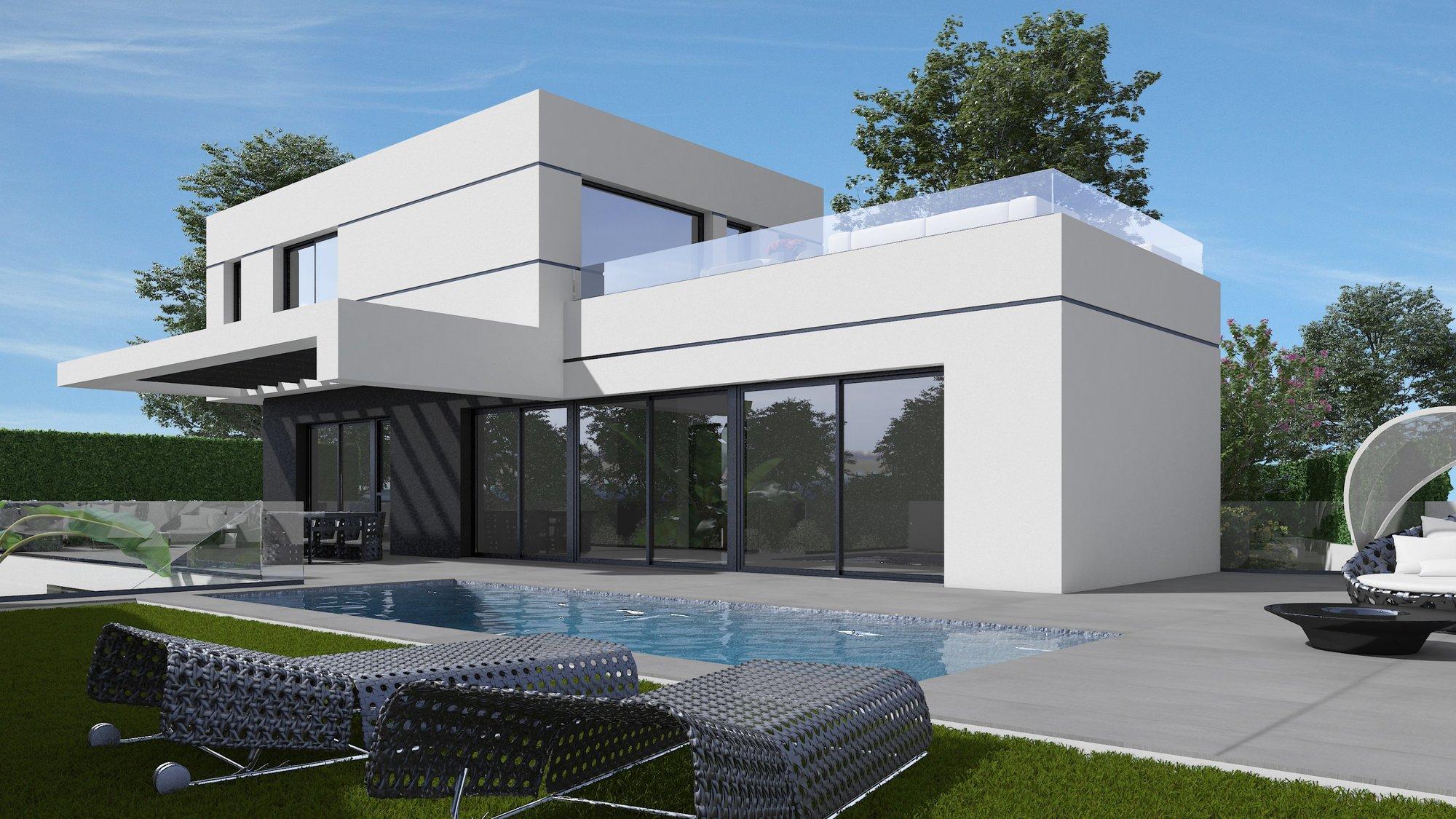 Villa for sale in Polop