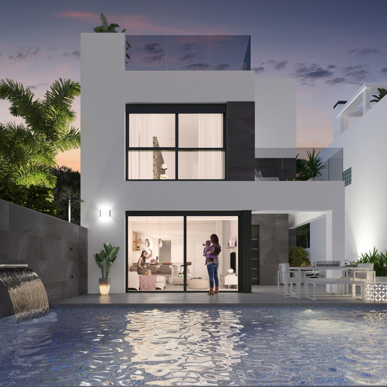 Villa for sale in Orihuela Costa, Punta Prima