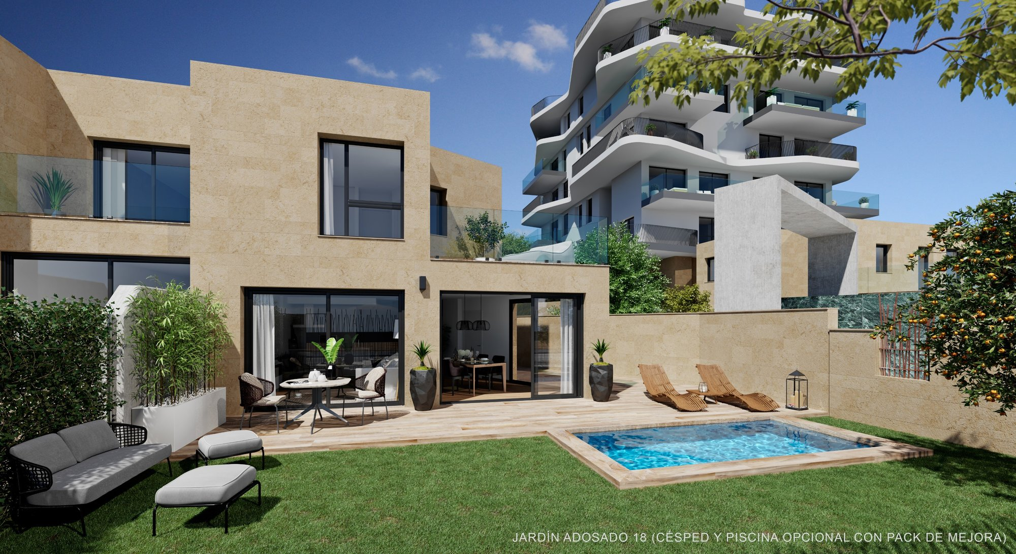 Townhouse for sale in Villajoyosa