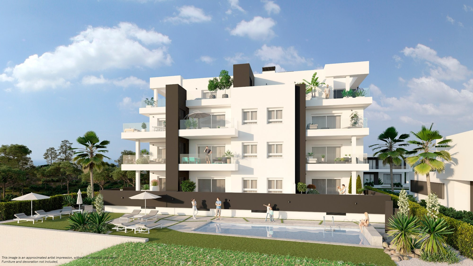 Apartment for sale in Orihuela Costa, Villamartin