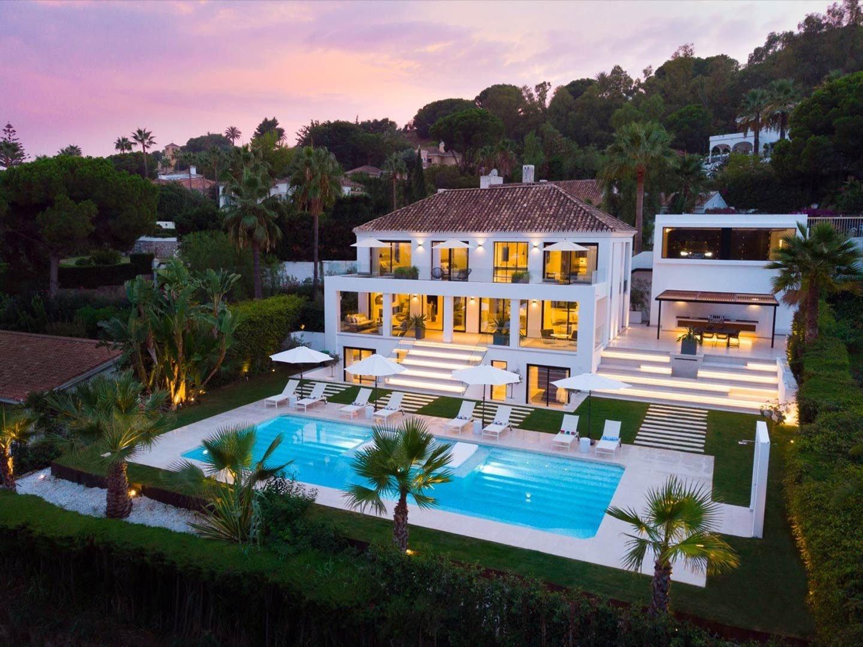 Villa for rent in Marbella, Nueva Andalucia