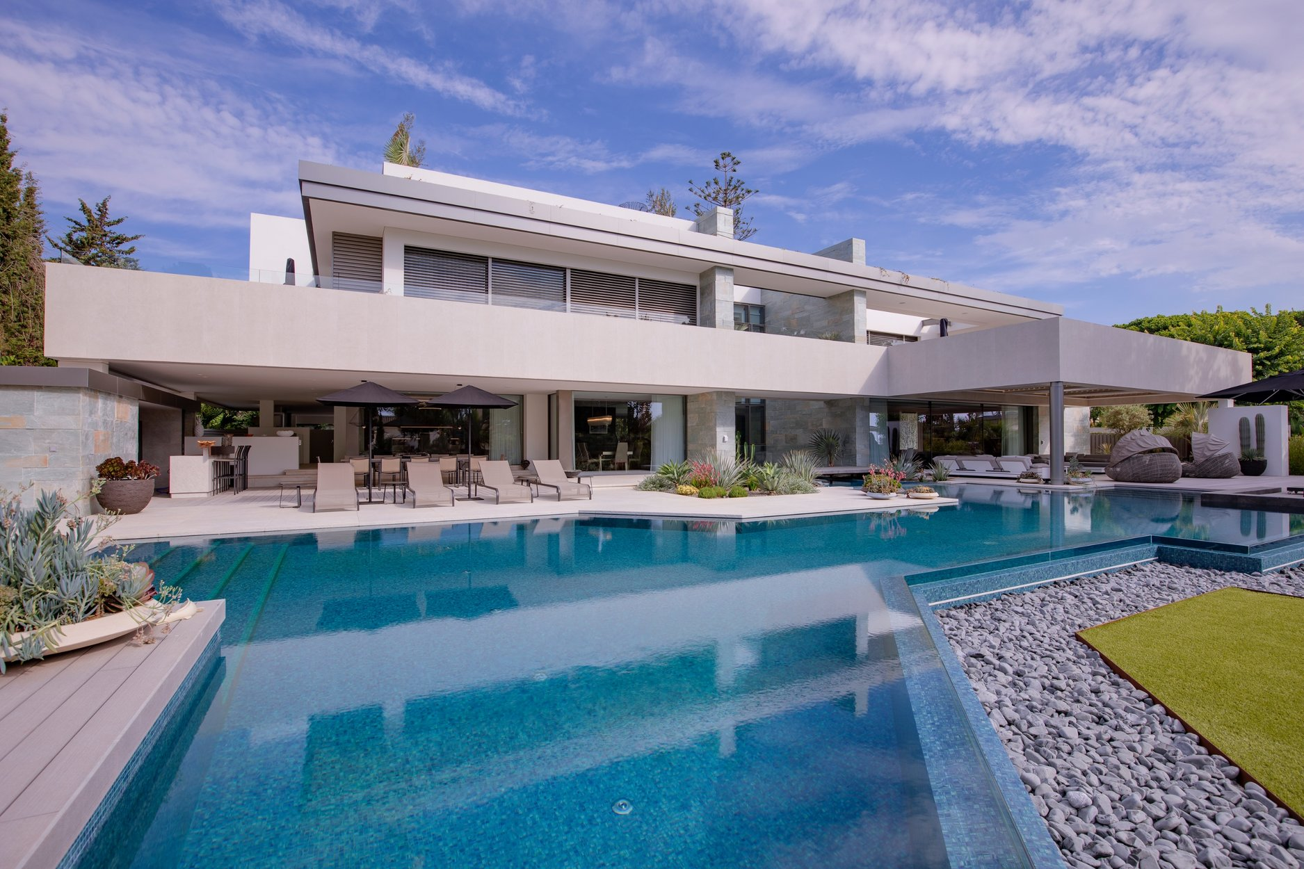 Villa for rent in Marbella, Marbella Golden Mile