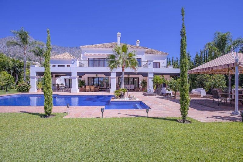 Villa att hyra i Marbella, Sierra Blanca