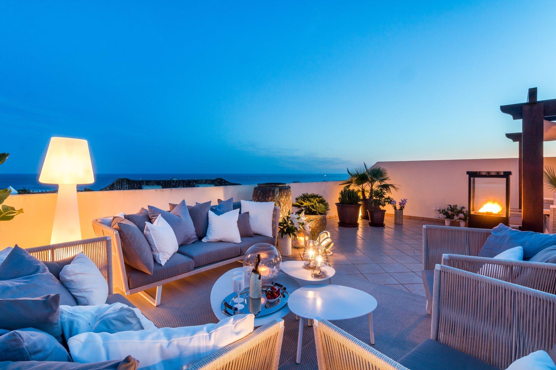 Penthouse till salu i Marbella, Vista Hermosa