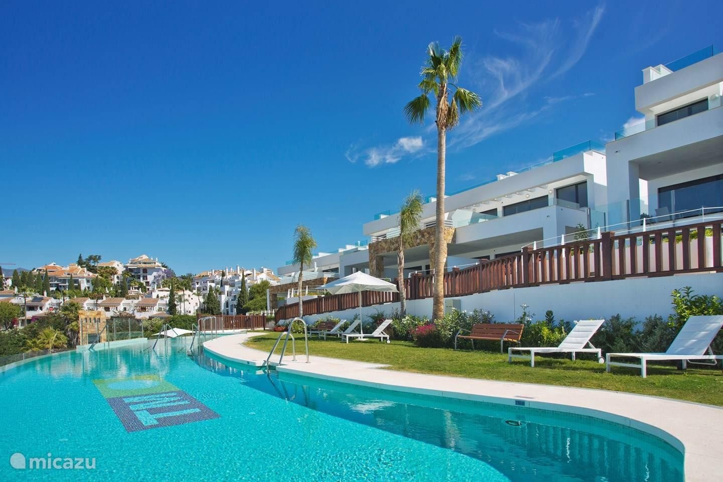 Townhouse for rent in Marbella, Marbella Golden Mile