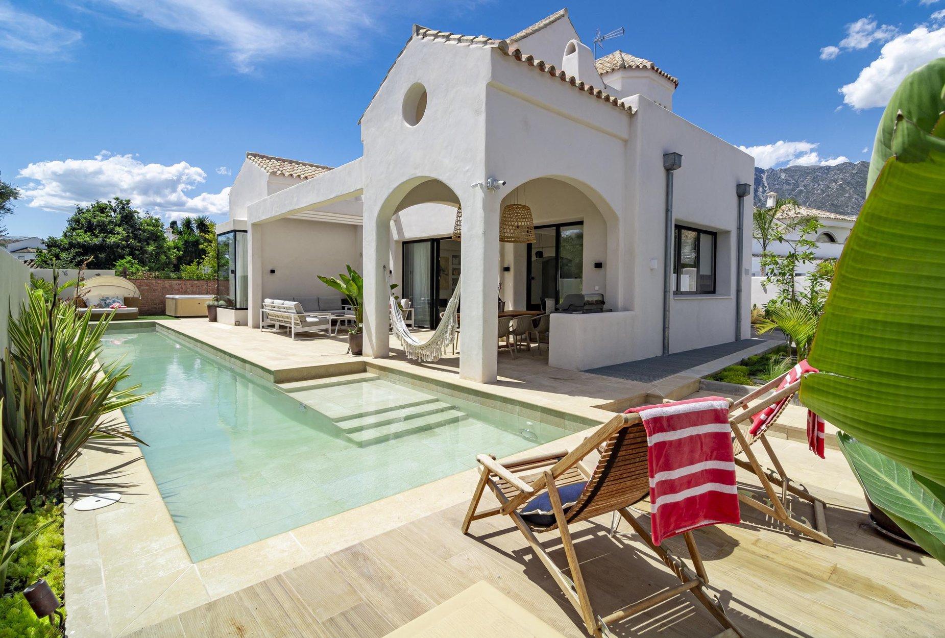 Villa for rent in Marbella, Casablanca