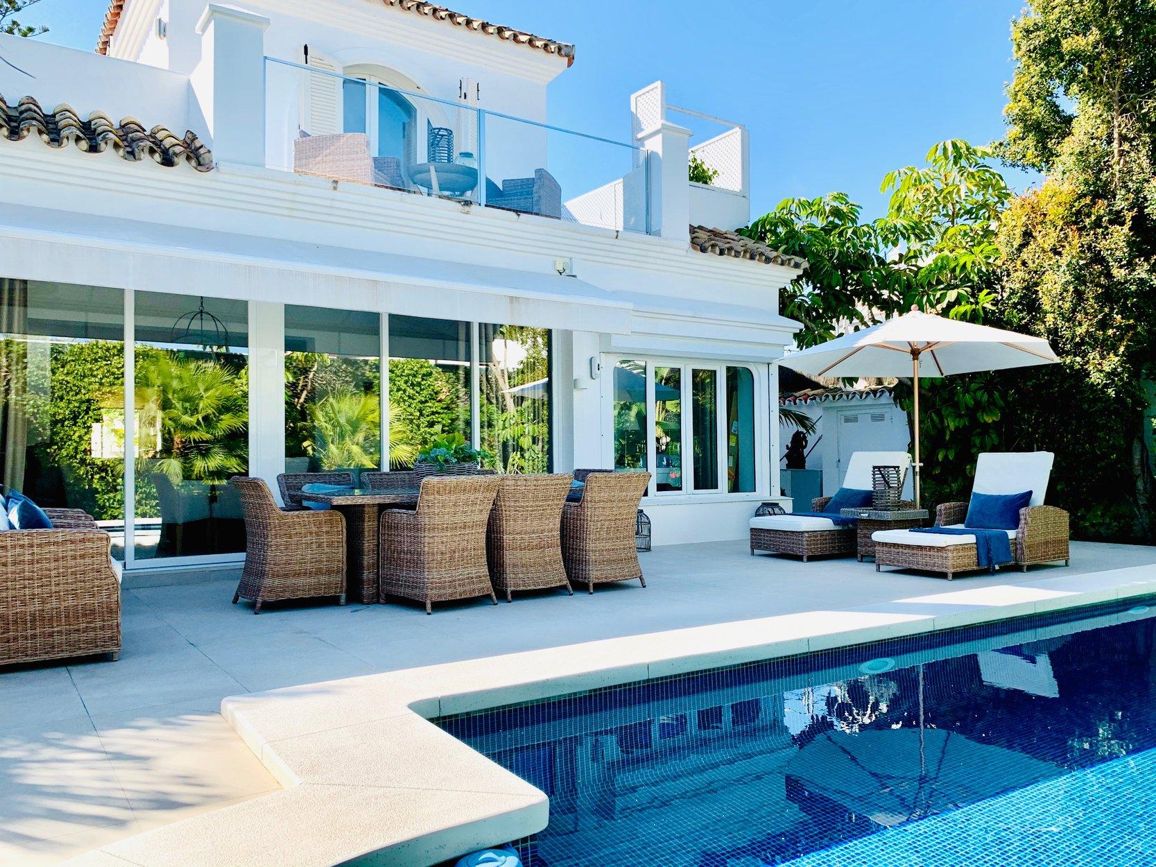 Villa te huur in Marbella, Casablanca