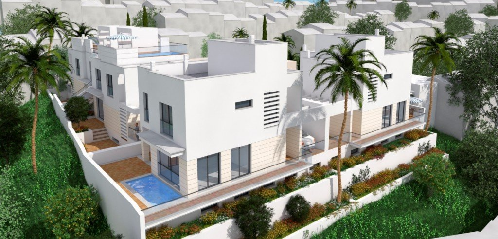 Villa til salgs i Nerja
