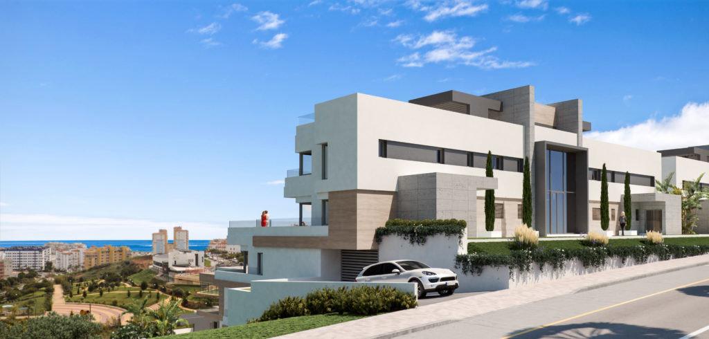 Penthouse te koop in Estepona