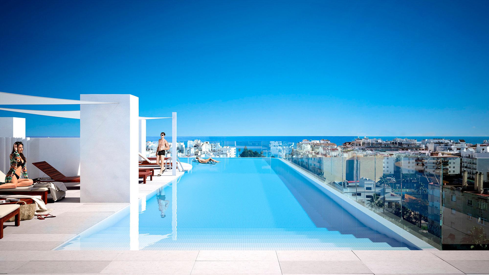Apartment till salu i Estepona, Residencial Infinity