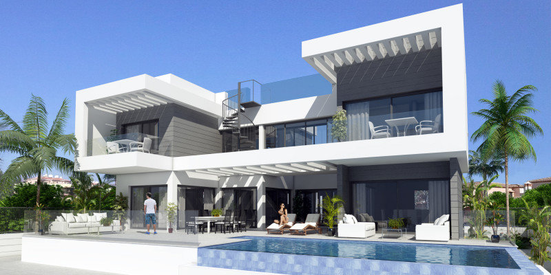 5-bed- villa for Sale in La Cala de Mijas