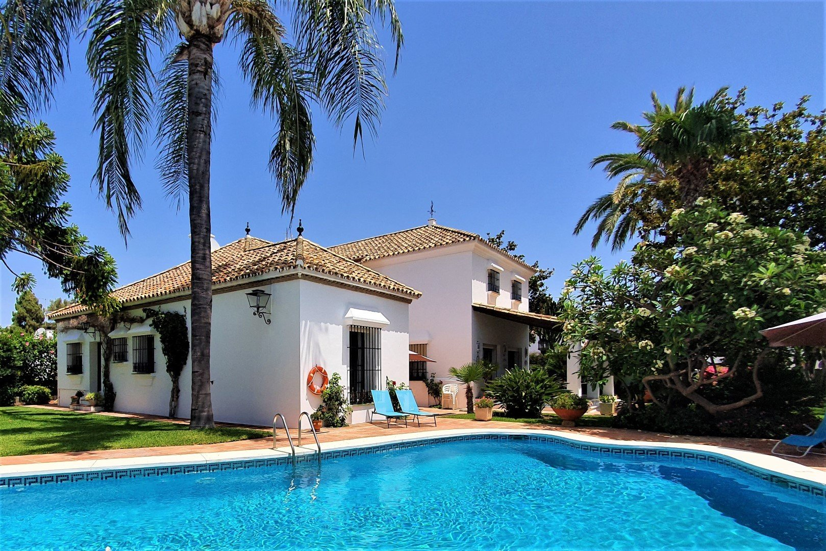 Villa for rent in San Pedro Alcantara, Cortijo Blanco