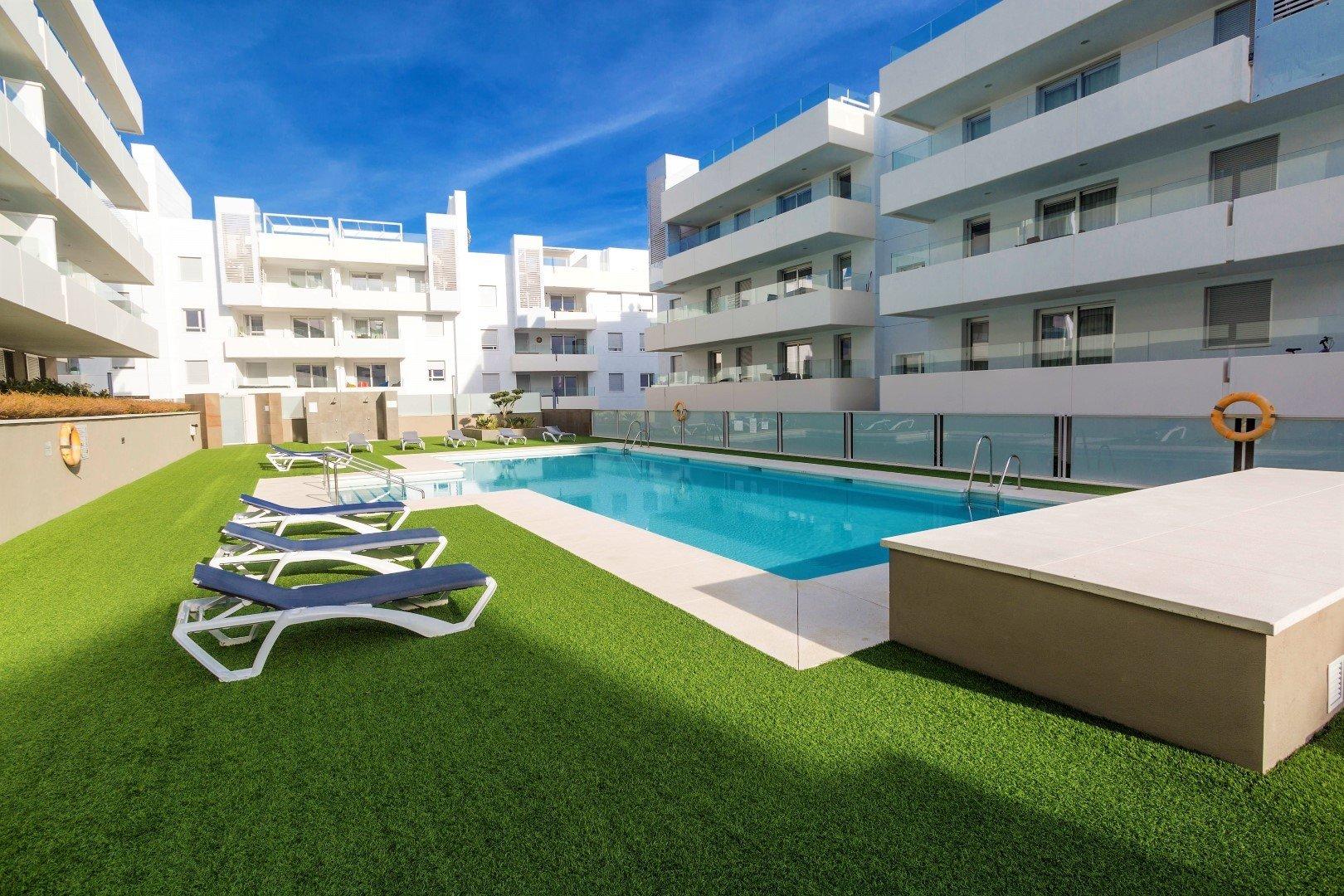 Apartment te huur in San Pedro Alcantara, Acqua
