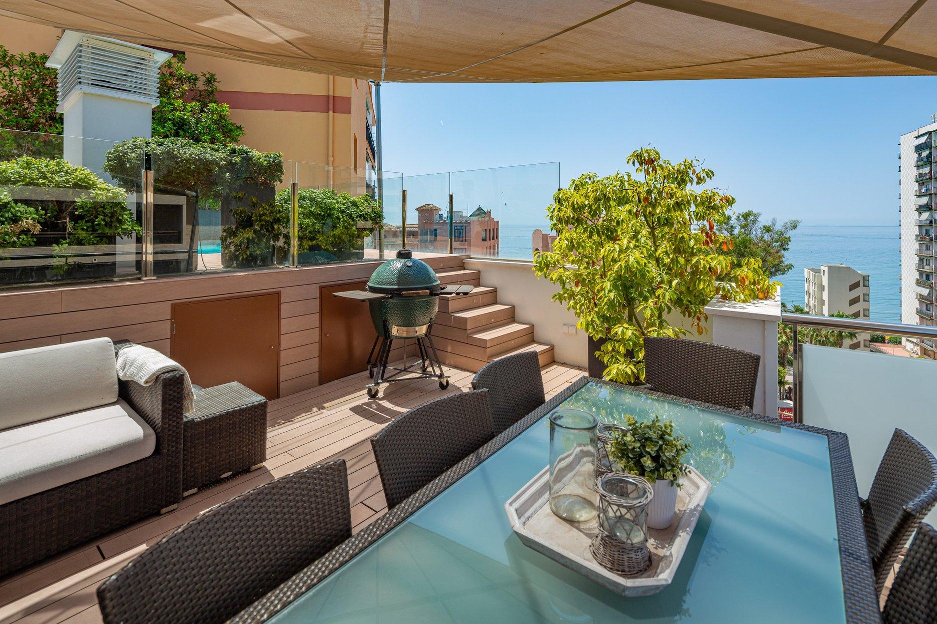 Penthouse te koop in Marbella, Avenida del Mar