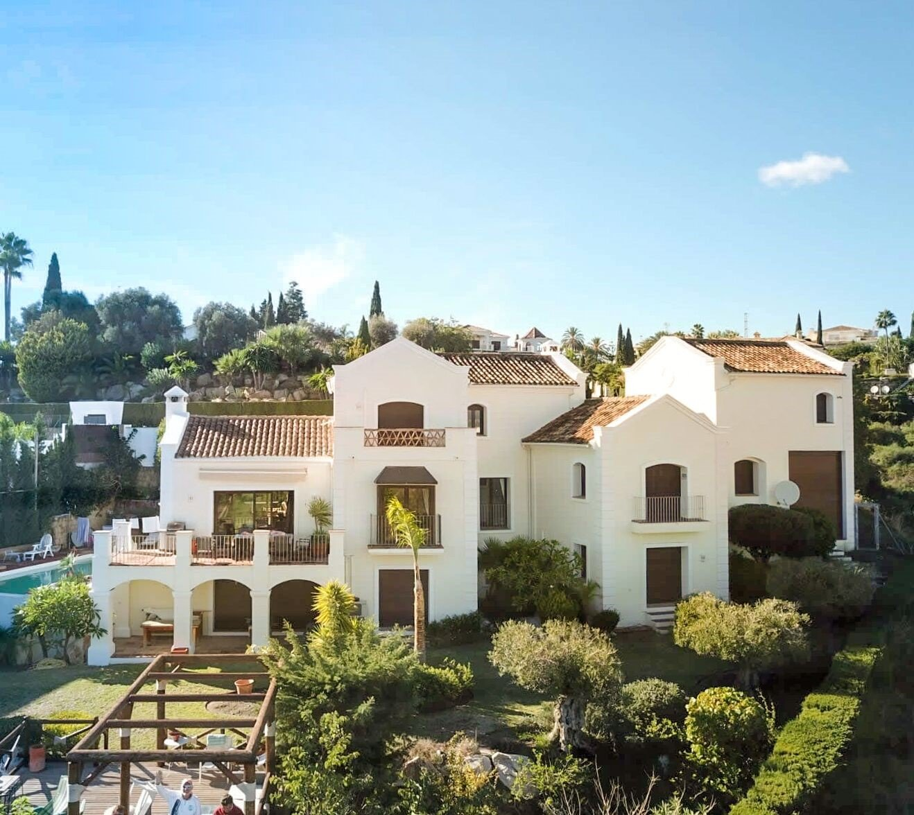 Villa for sale in Benahavis, El Paraiso Alto