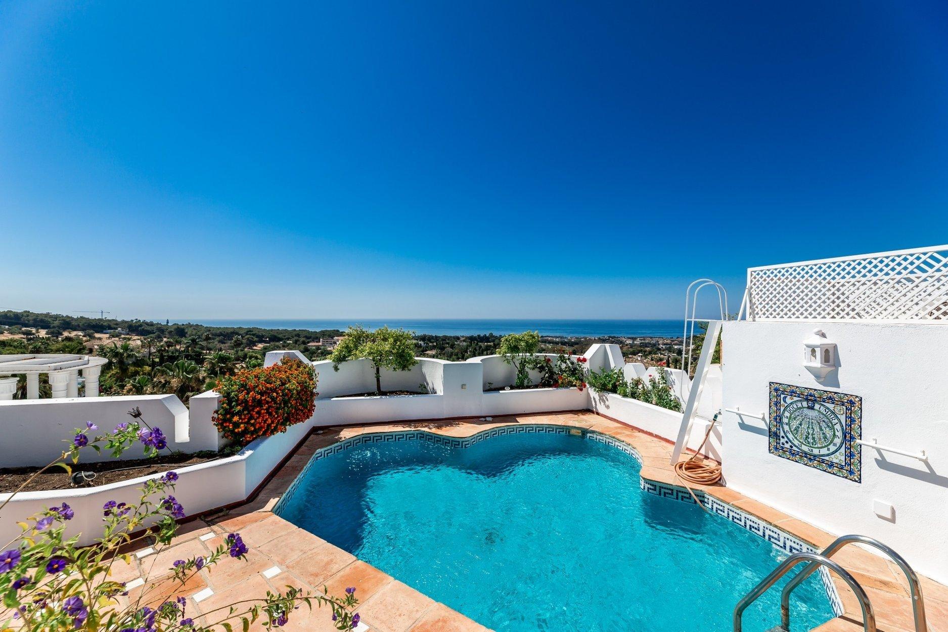 Penthouse for sale in Marbella, Jardines Colgantes