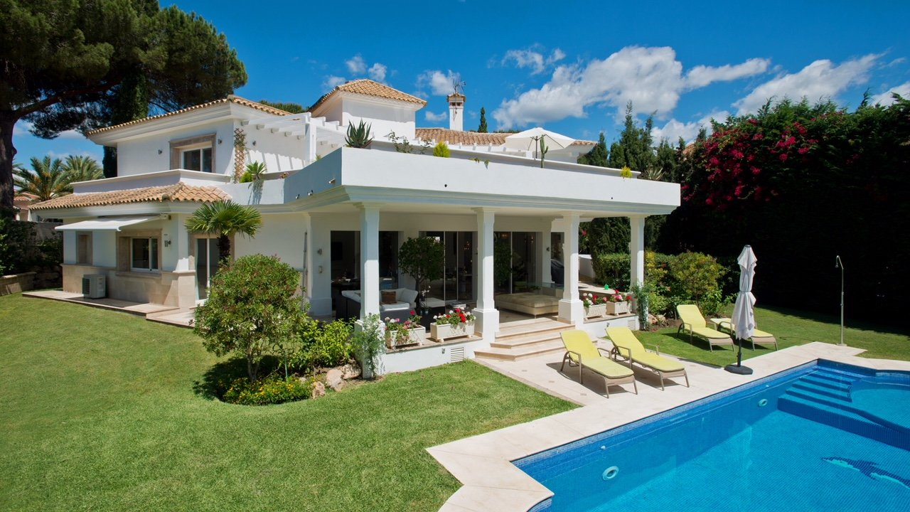 Villa til salgs i Marbella