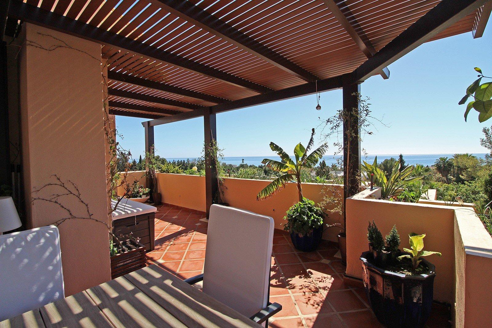 Penthouse att hyra i Marbella, El Virrey de Nagüeles