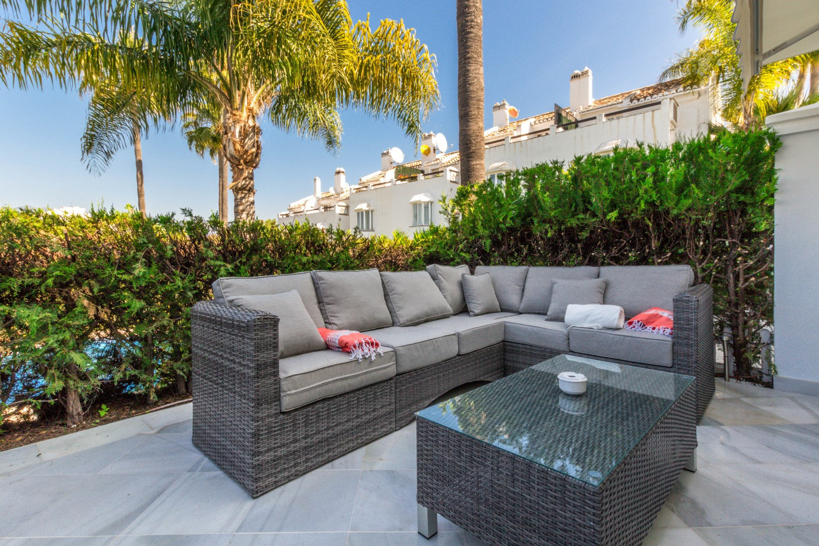 Townhouse for rent in Marbella, Arco Iris