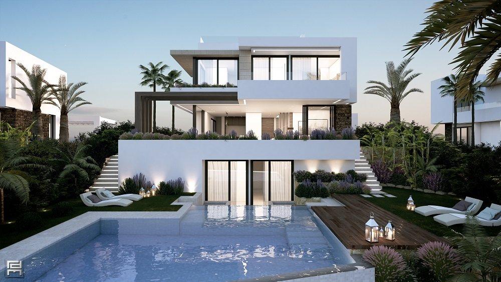 4-bed- villa for Sale in Cancelada