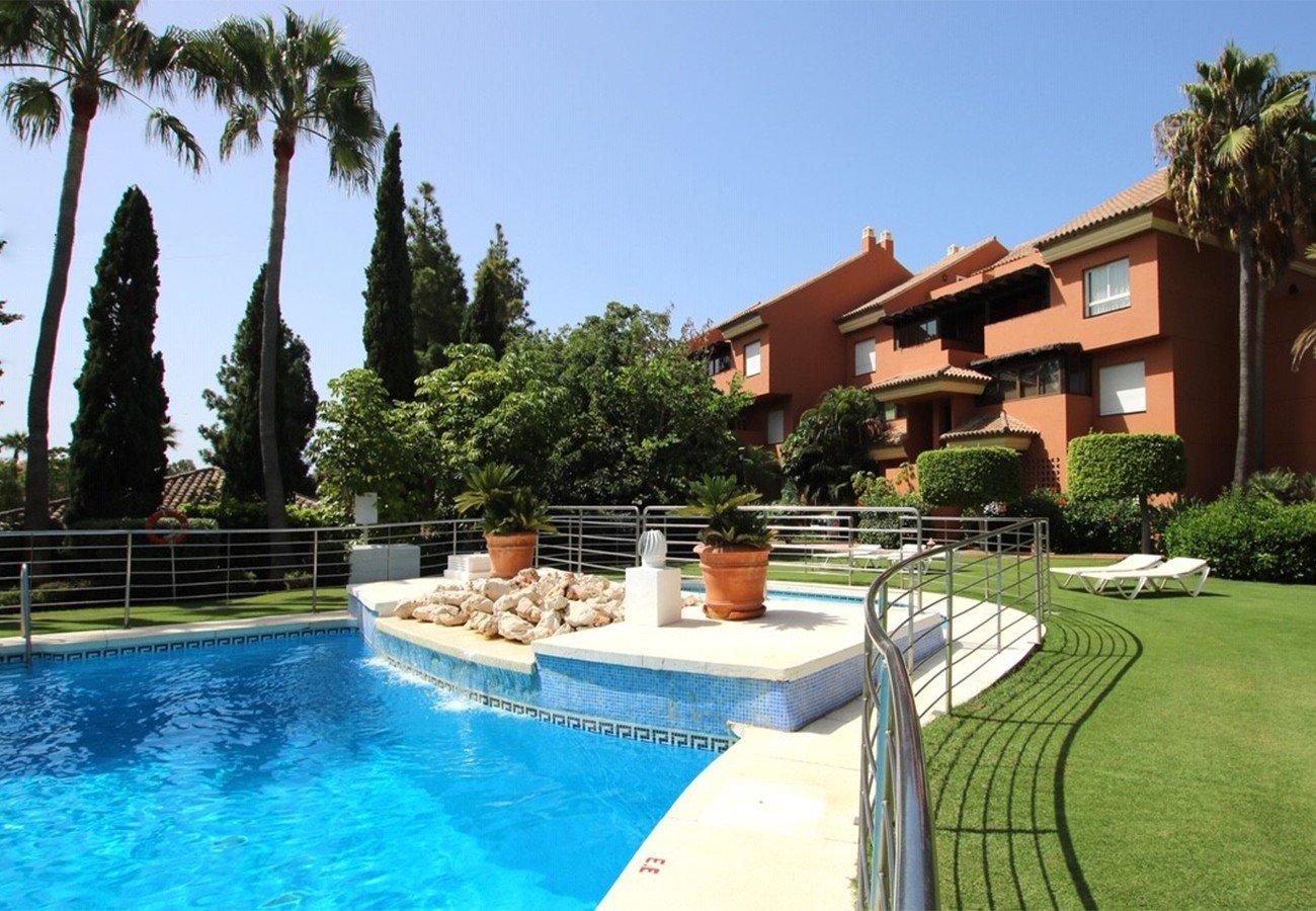 Apartment te huur in Marbella, El Embrujo Playa