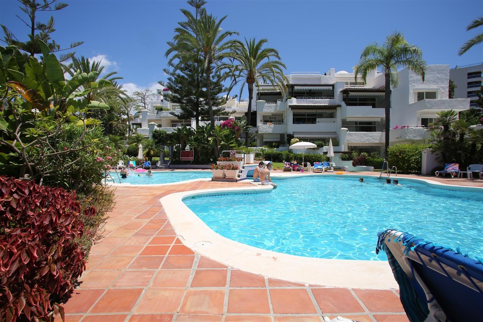 Apartment for rent in Marbella, Alhambra del Mar