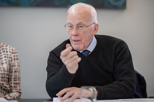 Sir Ian Wood KT GBE 500