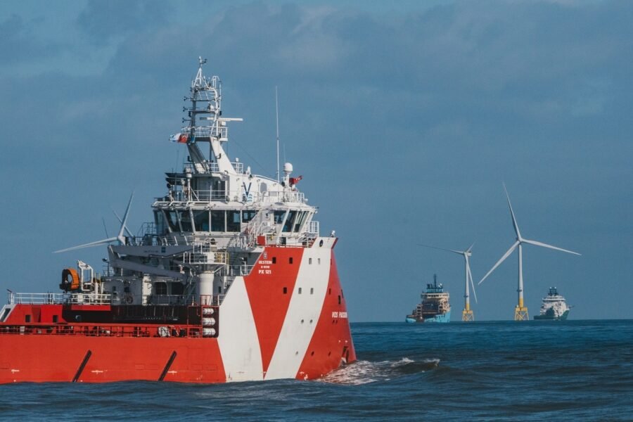 Offshore wind and supply vessels 1600