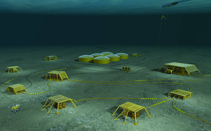 Web 21 subsea factory