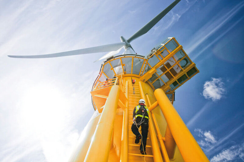 Oteac was contracted to complete a work-scope from a UK-based offshore wind operator