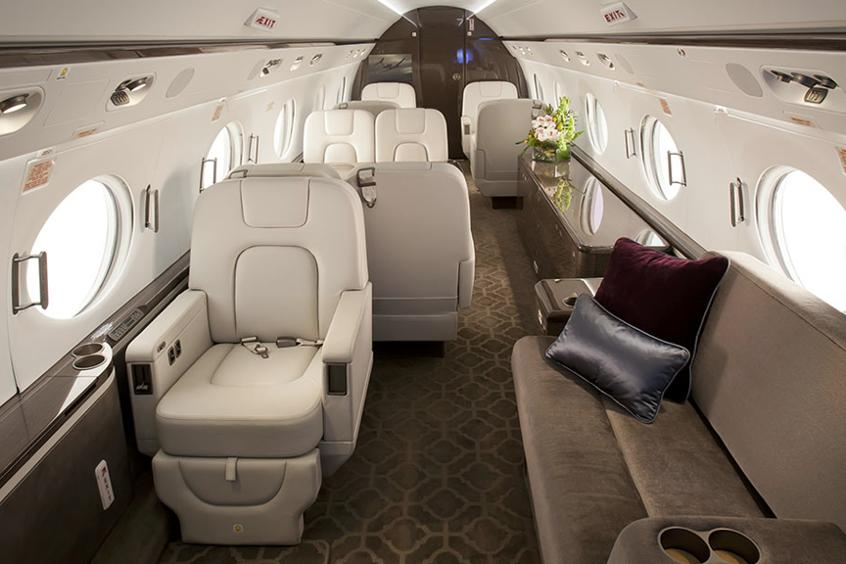Private Jet Charter Hire Gulfstream G550 Privatefly